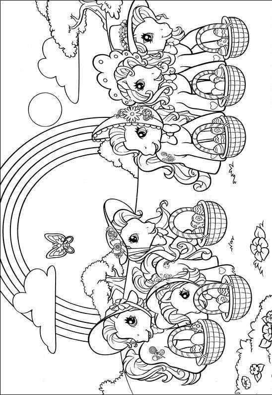 Paarden Kleurplaten Is Mijn Pony My Little Pony Para Colorear Imagui