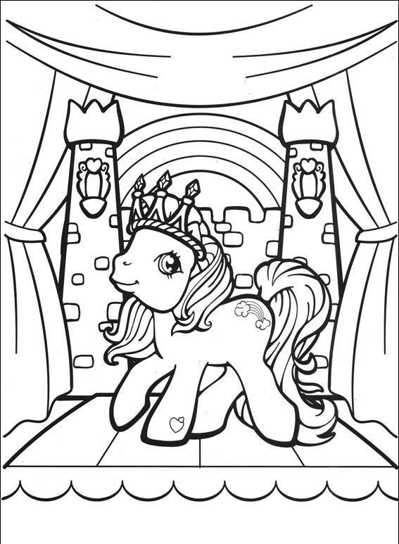Desenho para colorir My Little Pony 313
