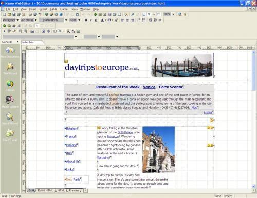 namo web editor