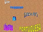 Desafio de Português