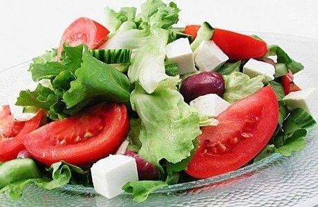 Receita Salada Grega Light