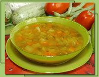 Receita Sopa de Legumes e Carne Moída