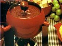 Receita Fondue de Chocolate