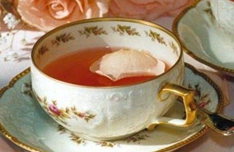 Receita Chá de Rosas