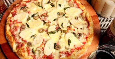 Receita Pizza a Moda do Chefe
