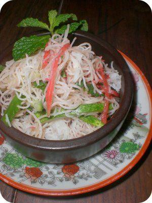Receita Salada de Bifum