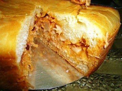Receita Torta Salgada de Fécula de Batata