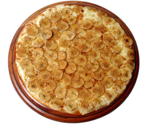 Receita de Pizza de Banana