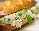 Sanduiche de forno de atum
