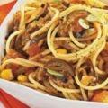 Receita Espaguete ao Molho de Berinjela