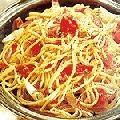 Receita Espaguete com Cebola e Presunto