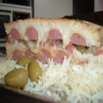 Receita Sanduíche de Salsicha no Forno
