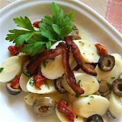 Receita Salada de Palmito com Azeitonas