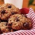 Receita Cookies de Aveia com Gotas de Chocolate