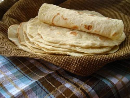 Receita Massa de Pão Folha - Wrap