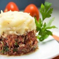 Receita Escondidinho de Carne Seca do Edu Guedes