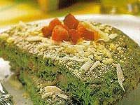 Receita Omelete de Espinafre com Queijo