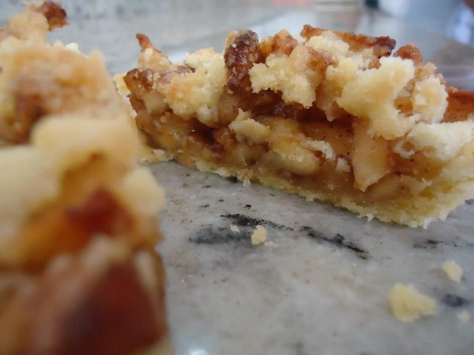 Receita Tortilha de Maçã com Nozes (com Fotos)