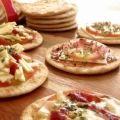 Receita Mini Pizza de Bolacha