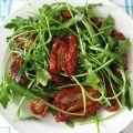 Receita Salada de Rúcula com Tomate Seco