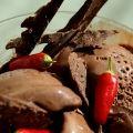 Receita Sorvete de Chocolate com Pimenta