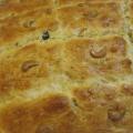 Receita Pão de Aipim com Passas e Castanhas de Caju