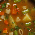 Receita Sopa de Carne com Legumes