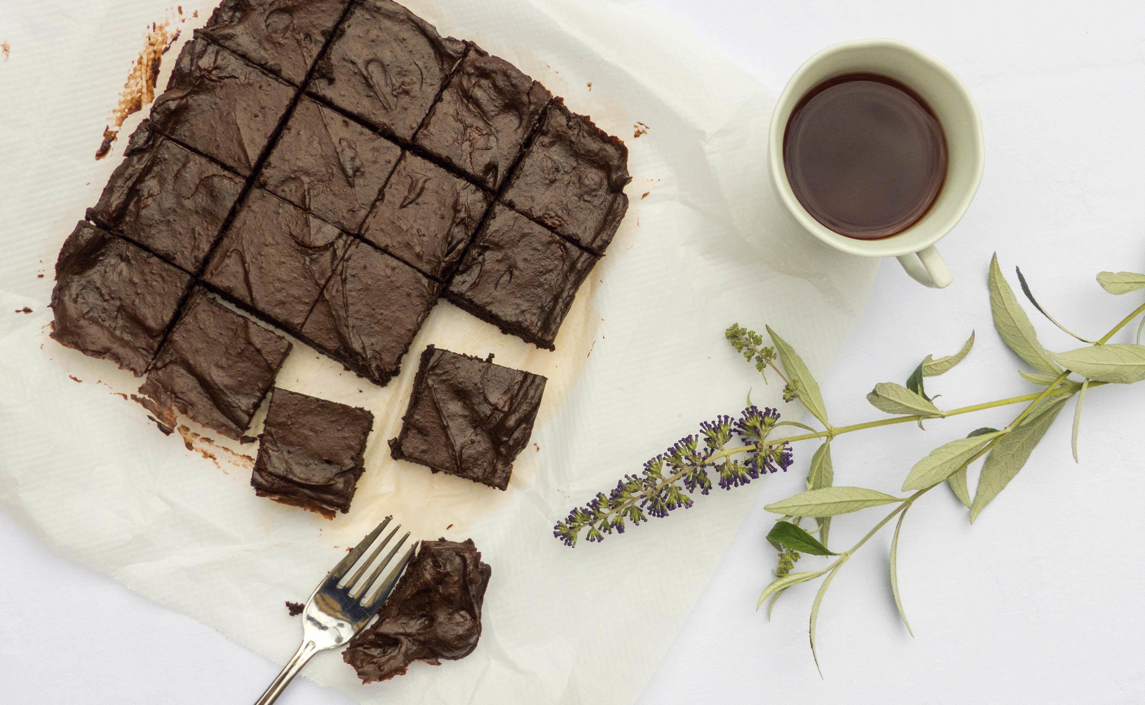 Receita Brownie de Abacate e Chocolate