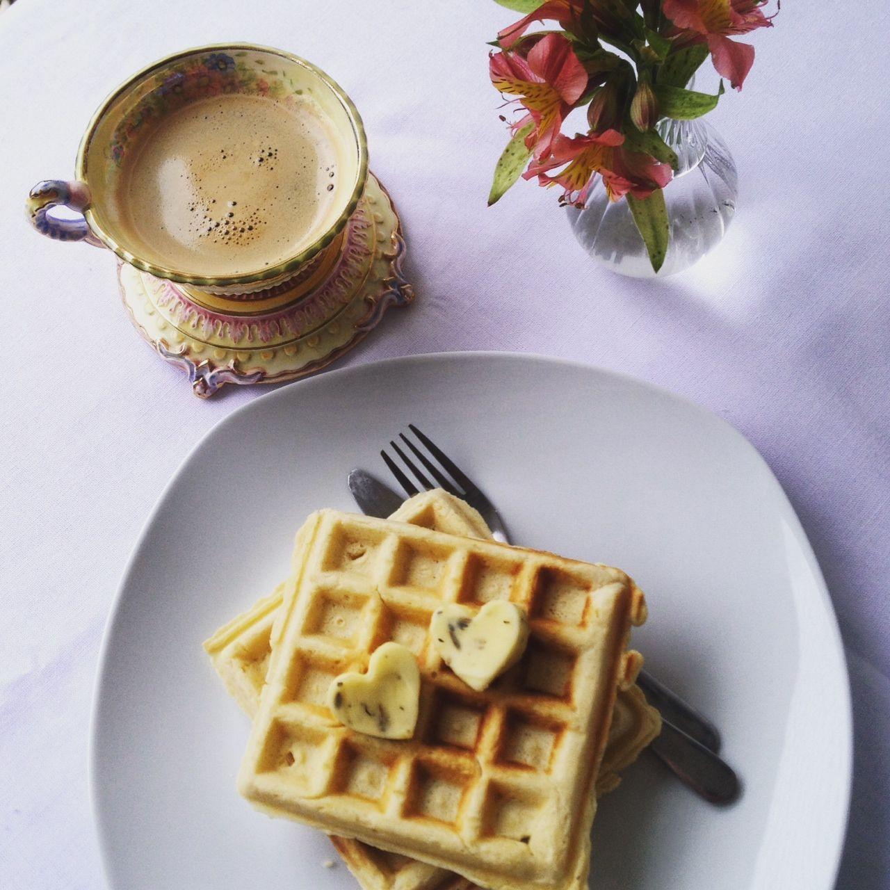 Receita Waffles