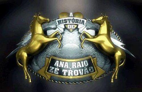 Novela Ana Raio e Zé Trovão