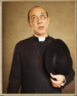 Padre Cecílio - Personagem da Novela Gabriela - ClickGrátis