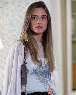 ... Lili (Alice) na novela Além do Horizonte exibida pela Emissora Globo