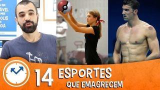 14 esportes que emagrece