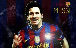 Lionel Messi, o craque do Barcelona