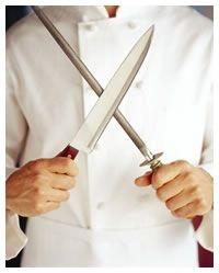 Como manter as facas afiadas