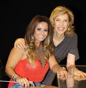 Viviane Araújo fala sobre seu casamento com Belo no programa De Frente com Gabi