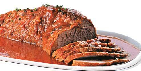 Assar carne no forno