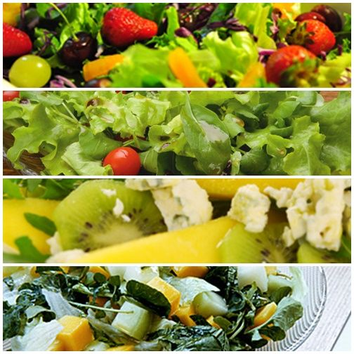 Tenha sempre em casa ingredientes dessas receitas de saladas diferentes