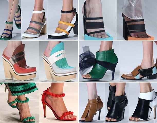 Tendência de calçados e acessórios no São Paulo Fashion Week 2014