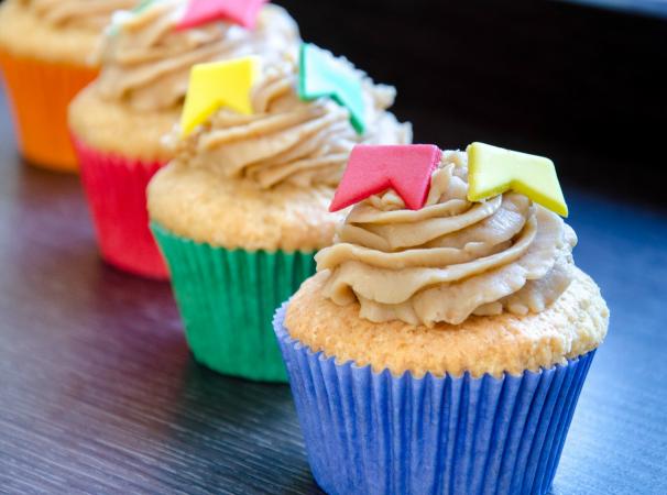 Dicas de comidas de Festa Junina: cupcake de paçoca ou fubá para as festas de São João