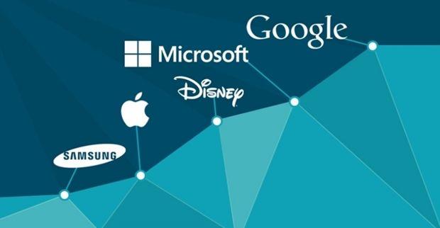 Lista das 100 maiores empresas do mundo tem apenas 2 BRs; Google e Microsoft lideram