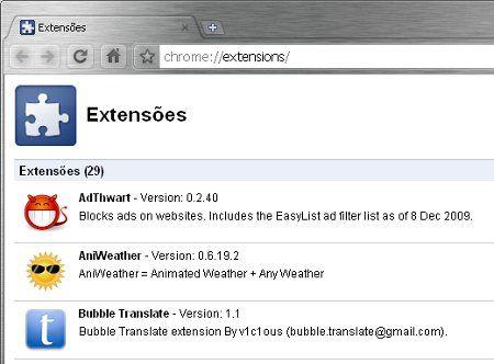 Como desinstalar barra de ferramentas e extensões do Chrome, Firefox e Internet Explorer