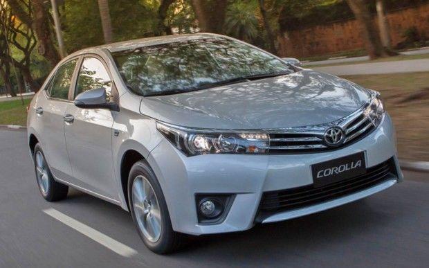 Corolla, o carro mais vendido em junho de 2015