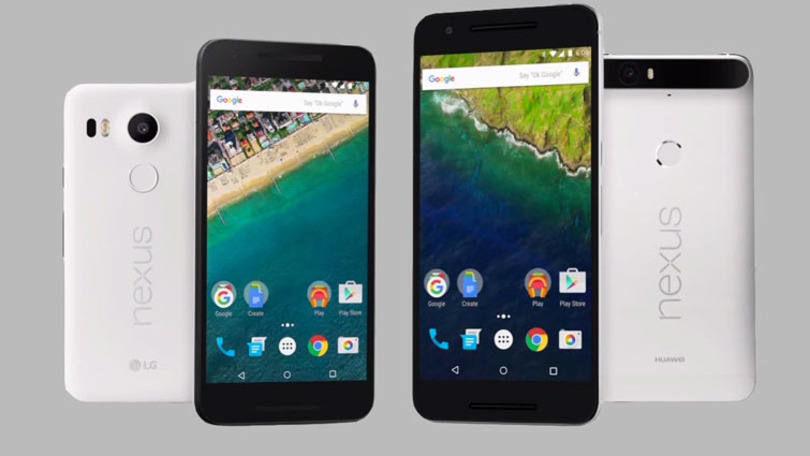 Novos smartphones Nexus