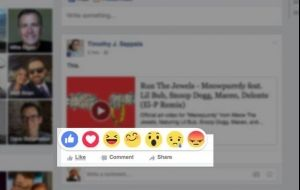 """Facebook terá um conjunto de emoticons junto ao botão """"Curtir"""" – Veja como vai funcionar"""