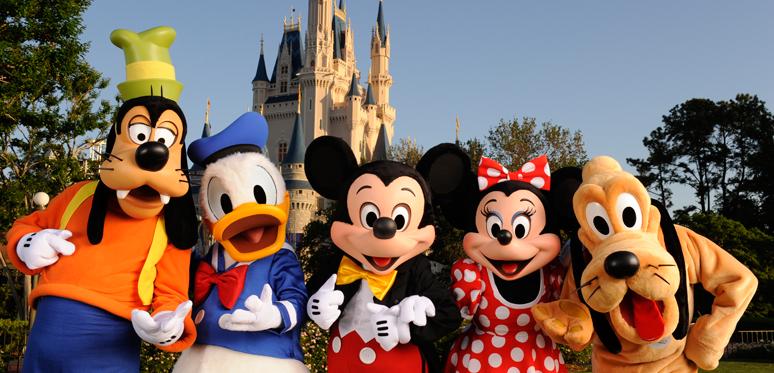 Promoção para passagens de ida e volta à Disney