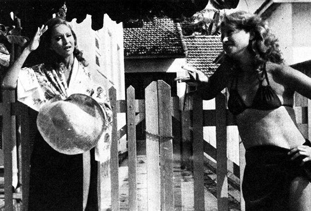 """Ruth e Raquel em """"Mulheres de Areia"""""""