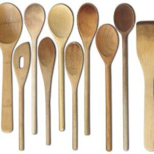 Dicas de uso para colheres e utensílios de cozinha