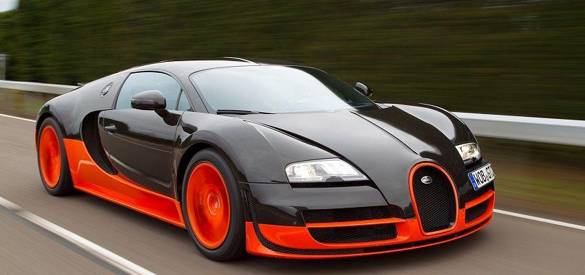 Bugatti Veyron (US$ 2,5 Milhões)