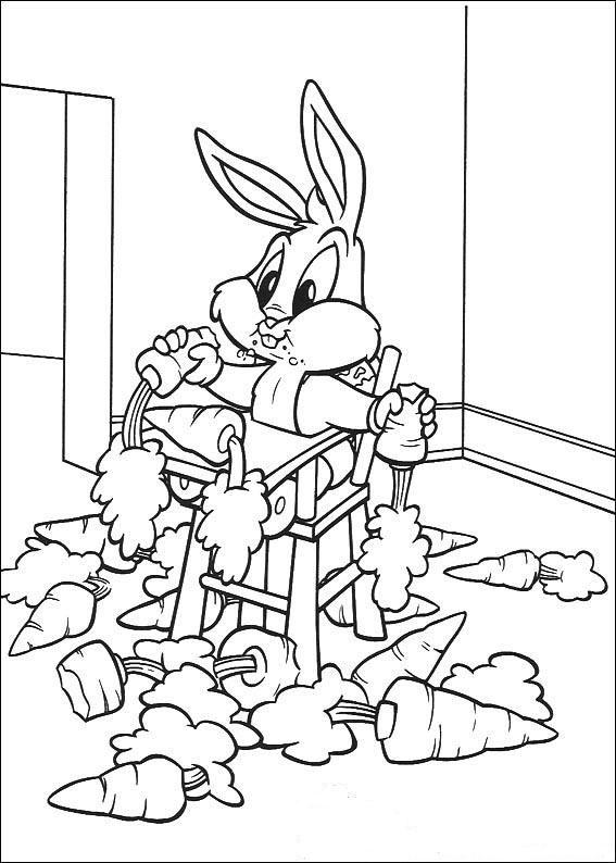 Desenho Para Colorir Baby Looney Tunes 139 Criancas Clickgratis